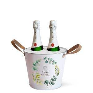 2 Anna Brut + Metallic Bucket