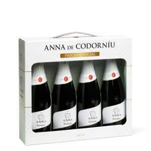 4 Anna de Codorníu Brut Case