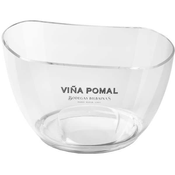 Cubitera transparente Viña Pomal (5-6 bot.)