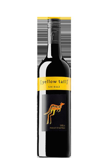 Yellow Tail Shiraz (Rosca)